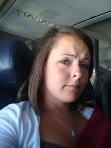 July 2011: Selfie on my first trip out to Nebraska. Second solo flight ever. Feeling confident.